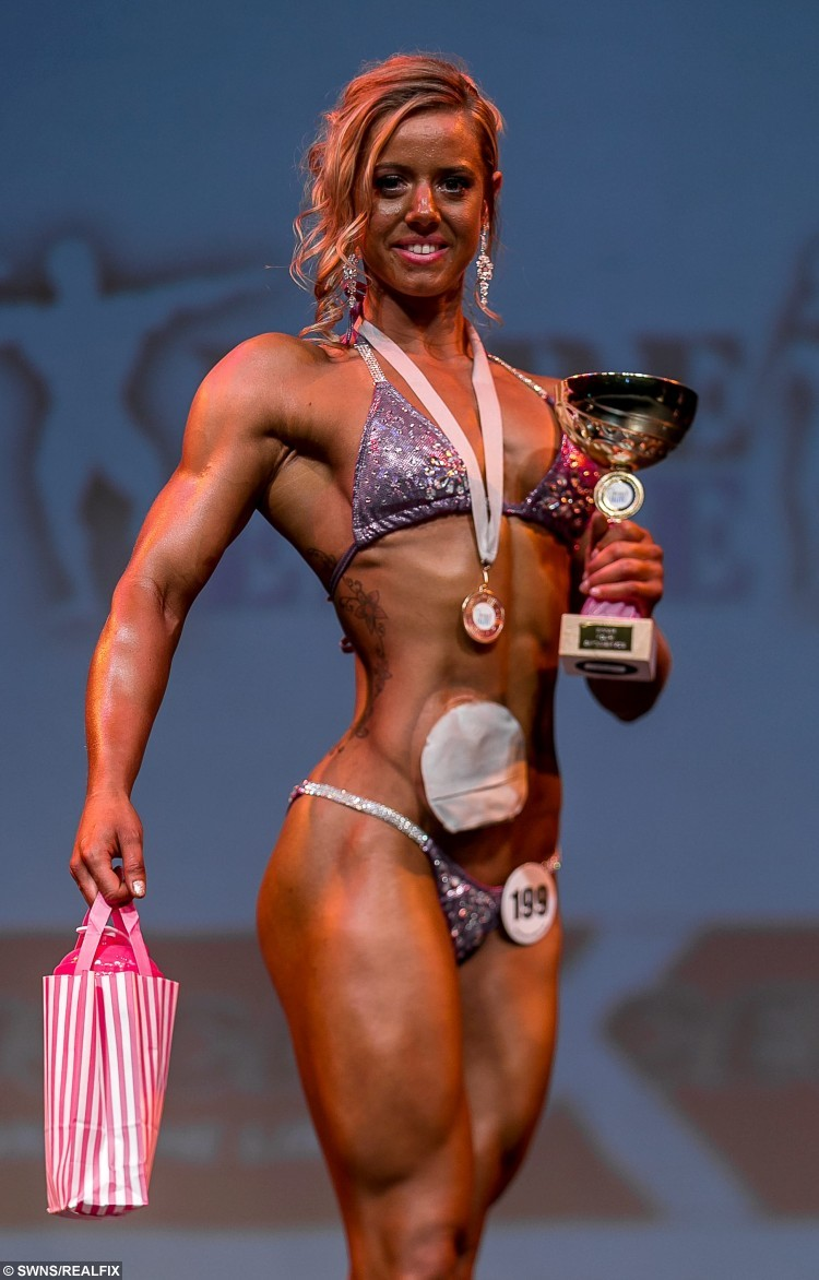Woman Crowned Champion After Braving The Stage With Her