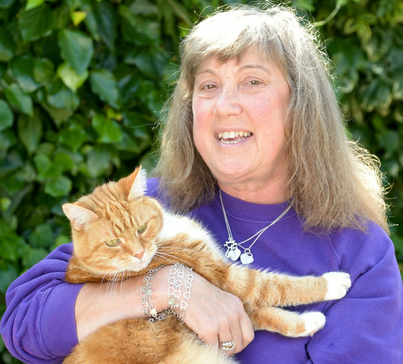 Woman opens sanctuary for GINGER cats claiming they're more vulnerable to abuse