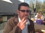 Louis Theroux-lookalike tricked girlfriend into letting him move in – then kicked HER out