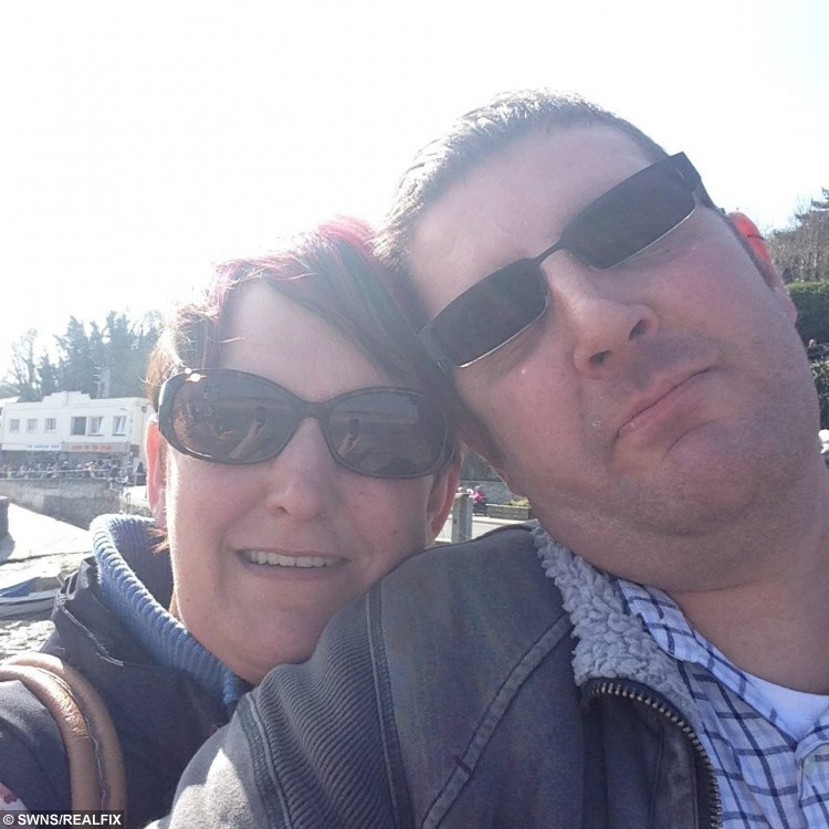 *UNDER EMBARGO - NO WEB USE BEFORE 15:00, 08/09 PLEASE* Collect of Allan Debenham with Jane Putt from Bodmin, Cornwall.  See SWNS story SWLOUIS; A Louis Theroux-lookalike has been jailed after moving in with his girlfriend after just 11 days à and kicking her out of her own HOME. Allan Debenham, who was once hauled before the courts for pretending to be the famed documentarian in a bid to cash in on his fame, has been jailed for launching a vicious assault on girlfriend Jane Putt. Jane, 44, met 41-year-old Debenham online and, just 11 days later, she was so taken in by his dark features and Theroux-like face she invited him to move into her home, in Bodmin, Cornwall. But less than two months later, unemployed Debenham turned nasty and attacked her in a booze-fuelled rage and threw her out of her own home à in her underwear. Mum-of-one Jane said: ÃI consider myself an intelligent woman but he completely duped me.
