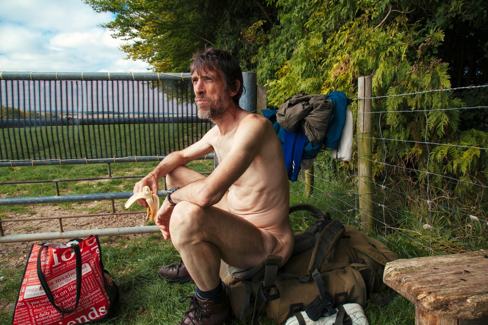 'Naked Rambler' arrested again for nude stroll just weeks after prison release