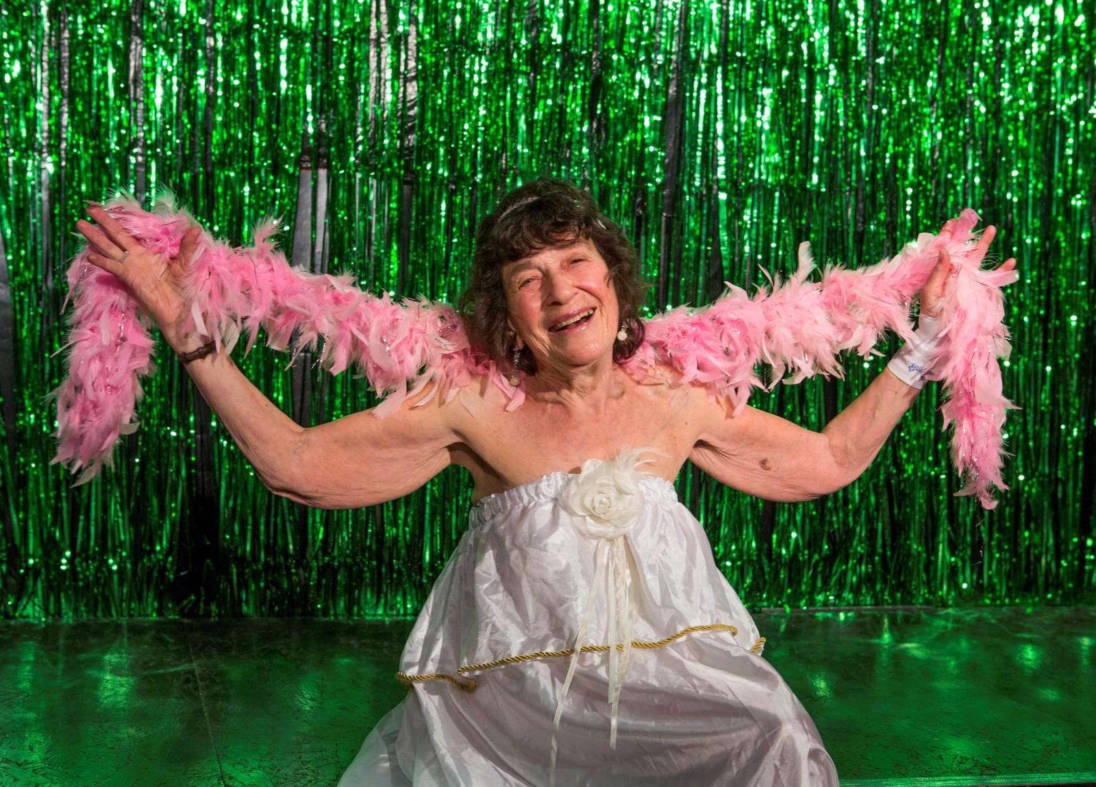 Meet the world's oldest burlesque dancer! Still stripping at 81