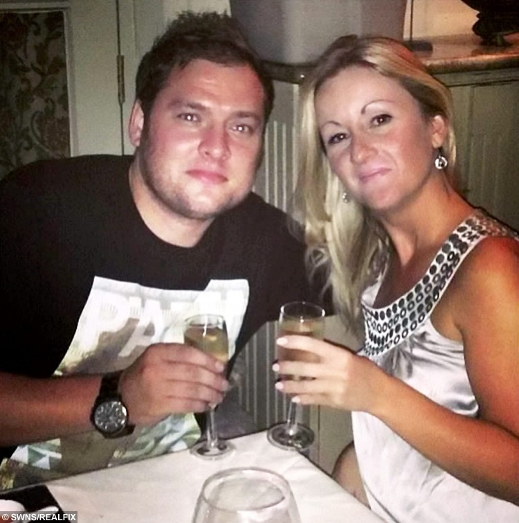 FILE PICTURE - Collect of Zoe Dronfield with ex-boyfriend Jason Smith.  See NTI story NTIHARASS; A woman who was almost killed by her crazed stalker ex-boyfriend has launched a charity to support fellow domestic abuse victims. Businesswoman Zoe Dronfield, 39, suffered a bleed on the brain and a neck wound after partner Jason Smith, 32, launched a ferocious eight-hour attack on her on February 2 last year. Smith stabbed her in the neck and stamped on her head leaving her with a bleed on the brain, a cracked cheekbone and a gash just 1cm from her jugular vein. When she regained consciousness she found Smith slashing his wrists in a suicide bid but had no memory of the assault. She feared he would escape justice until she hired a hypnotherapist who helped her piece together the details of the attack.
