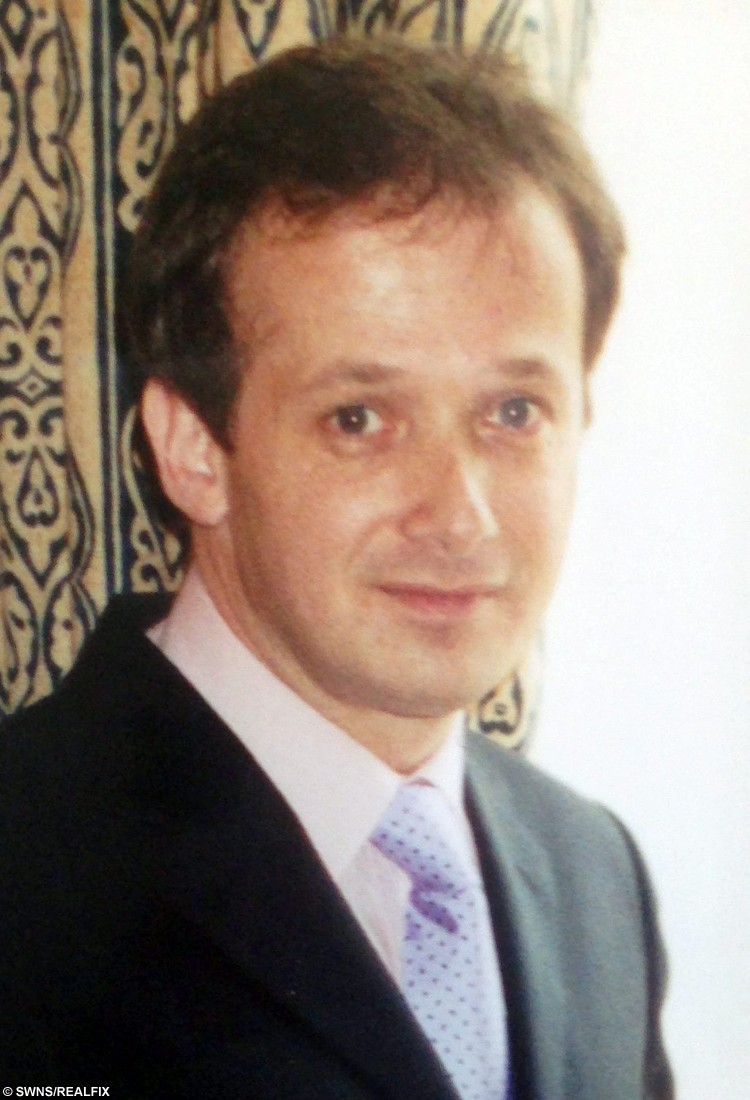 """FILE PICTURE - Linked to todays story NTISCAM, October 9, 2015, about how Matthew Samuels has been found guilty at Worcester Crown Court. Matthew Samuels aged 38 on his wedding day to Caroline Morris with whom he went on to have five children before Samuels' moved his new lover Anne Marshall, 21, into the marital home where they had a """"three way relationship."""".  A dad-of-14 swindled more than Ã180,000 from a string of wealthy women by targeting them on a dating website claiming to be friends with football stars, a court heard.  See NTI story NTISCAM.  Matthew Samuels, 50, is accused of conning 11 women - including a female police detective - over a four-year period to fund """"a flamboyant lifestyle.""""  A court heard Samuels used dating website MatchAffinity.com to target women he knew were both wealthy and single.  He is accused of posing as """"one of the richest men in the UK"""" and turned up to his dates in flash cars which he had hired.  A jury at Worcester Crown Court heard he told the women he """"rented properties to footballers"""" and had rubbed shoulders with tennis stars at Wimbledon.  He is accused of pocketing more than Ã180,000 from his victims between April 2011 and July this year. Samuels, of Worcester, denies 11 counts of fraud.  Prosecutor Gareth Walters said Samuels told the women he had fallen on hard times in order to persuade them to lend him money."""