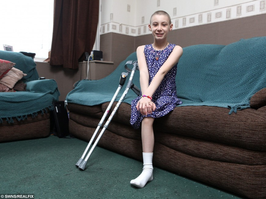 Brave Ballerina Girl Still Smiling After Rare Bone Cancer Forces