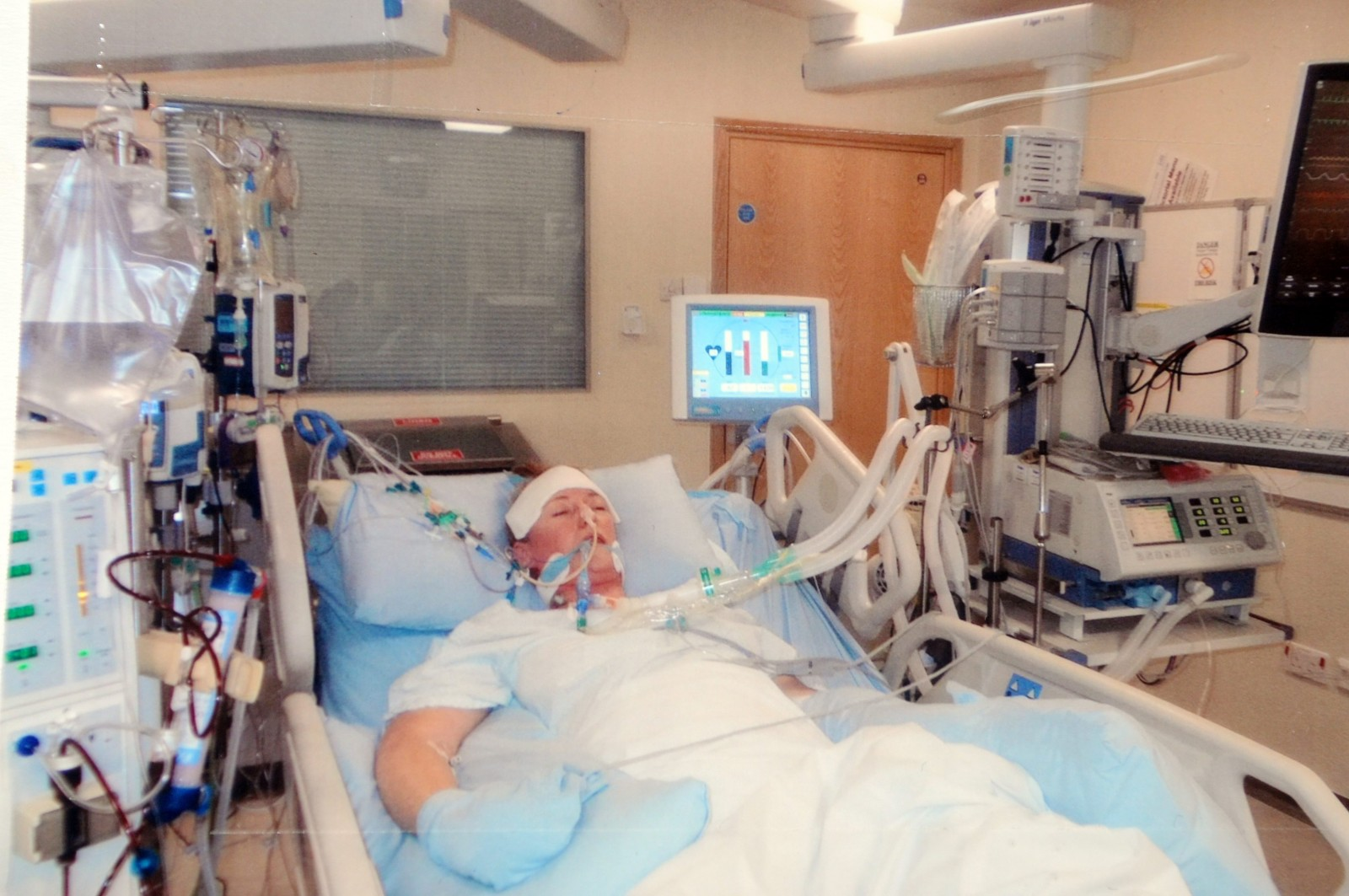 Mum slips into life-threatening coma after catching a COLD