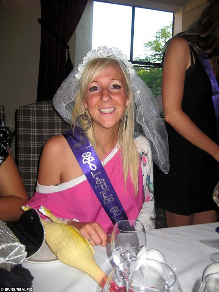Picture shows Emma Gray (pictured at her hen do) who was killed in a quad bike crash together with husband Jonathan while on their honeymoon in the Maldives. See Ross Parry copy RPYINQUEST : A couple were killed on honeymoon in the Maldives leaving behind their five-month-old son after accepting a lift home on a quad bike that crashed, an inquest heard.  Jonathan and Emma Gray, both 25, had gone to a private party on the Kuredu Island Resort in August 2011.   At the end of the night, the host of the party, Filip Petre, offered to drive Mr and Mrs Gray and two other couples back to their villas on a quad bike, an inquest heard.  The other couples declined but Mr and Mrs Gray, both of Halifax, West Yorks., accepted.   The inquest heard the couple rode on the back of Petre's bike at high speed before the bike crashed into a tree as it tried to negotiate a bend.  Petre escaped with minor injuries but Mr and Mrs Gray both died instantaneously.