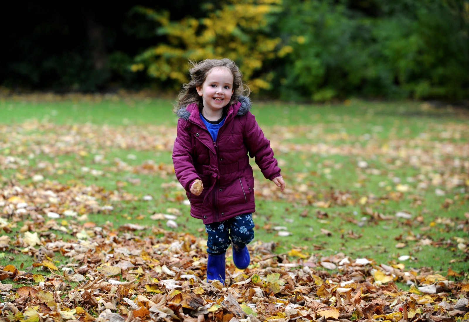 The touching reason why this 4-year-old girl will walk 500 MILES this year