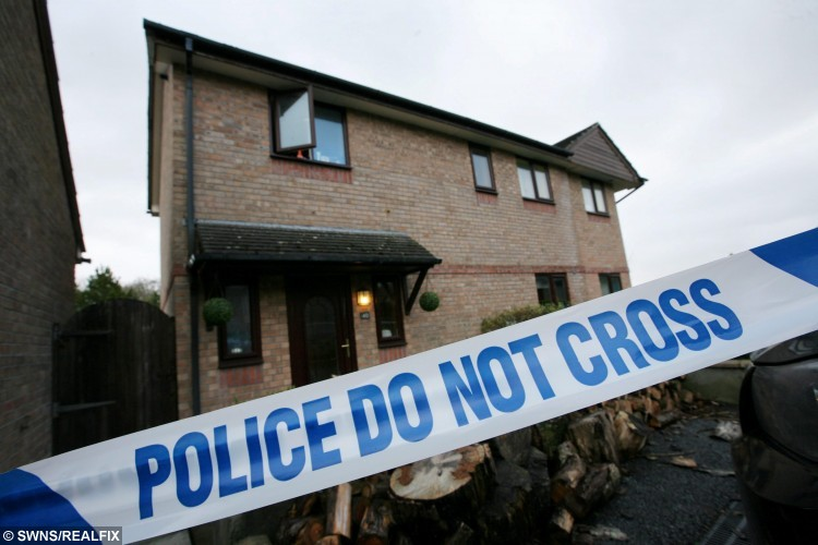 """Sent under embargo - no use before 18.00pm October 11 2015 Archive photo of the scene in Carrine Road, Truro, Cornwall, where  Andreas Christopheros was the victim of an acid attack.  See SWNS story SWACID; A man has been jailed for carrying out an acid attack on the WRONG victim leaving a father-of-one scarred for life in a case of mistaken identity. Property developer Andreas Christopheros, 29, suffered a permanent loss of vision and horrific burns when David Phillips flung the corrosive material in his face. Phillips, 48, attacked Andreas on his own doorstep in Truro, Cornwall, after travelling more than 300 miles from his own home in Hastings, East Sussex. But police yesterday said he was not the intended victim and described it outside court as a revenge attack on the wrong man that was """"Ill-prepared and ill executed."""""""