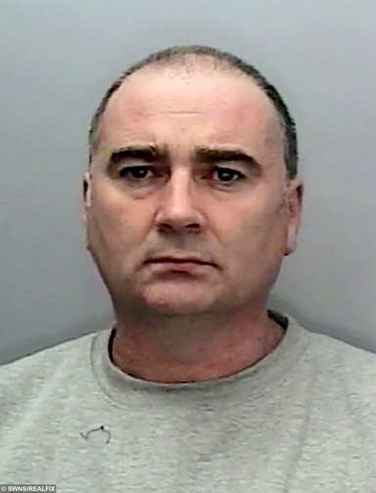 """Sent under embargo - no use before 18.00pm October 11 2015 David Phillips who has pleaded guilty to the acid attack on See SWNS story SWACID; A man has been jailed for carrying out an acid attack on the WRONG victim leaving a father-of-one scarred for life in a case of mistaken identity. Property developer Andreas Christopheros, 29, suffered a permanent loss of vision and horrific burns when David Phillips flung the corrosive material in his face. Phillips, 48, attacked Andreas on his own doorstep in Truro, Cornwall, after travelling more than 300 miles from his own home in Hastings, East Sussex. But police yesterday said he was not the intended victim and described it outside court as a revenge attack on the wrong man that was """"Ill-prepared and ill executed."""""""