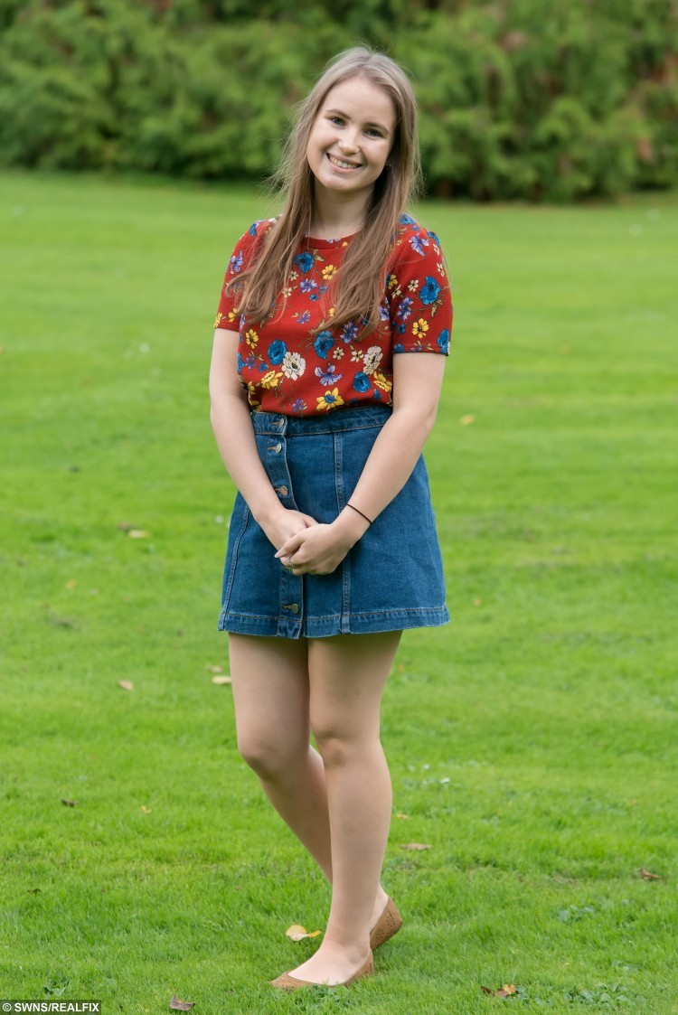Alice Byron, 20, poses for a portrait near where she lives in Cardiff, Wales. October 22 2015. Alice, an English Literature student at Cardiff University from Oxfordshire suffers from a rare blood disorder and needs a bone marrow transplant. See SWNS story SWMARROW; A student with a rare blood disorder is hunting for a bone marrow donor match among fellow undergraduates - before she develops LEUKAEMIA. The fate of Alice Byron, 20, now lies in the hands of a complete stranger after she was diagnosed with the illness that causes a drop in healthy blood cells. Despite none of her family being a match, medics have told the third year student that her one of her peers at Cardiff University could give her a life-saving bone marrow transplant. Now she is appealing for help from fellow undergraduates who are more likely to be a match.