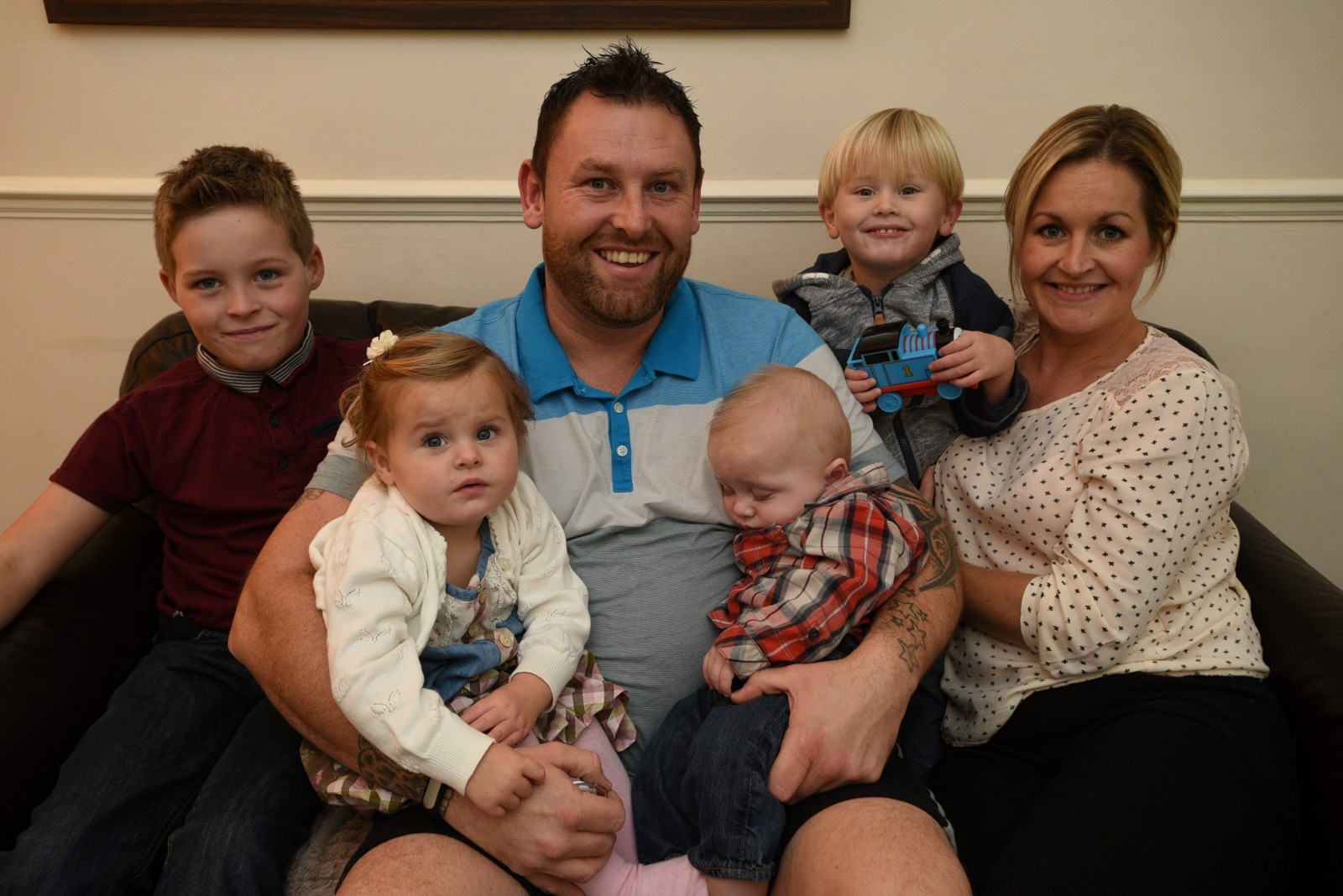 Dad-of-five was planning his own funeral when something remarkable happened