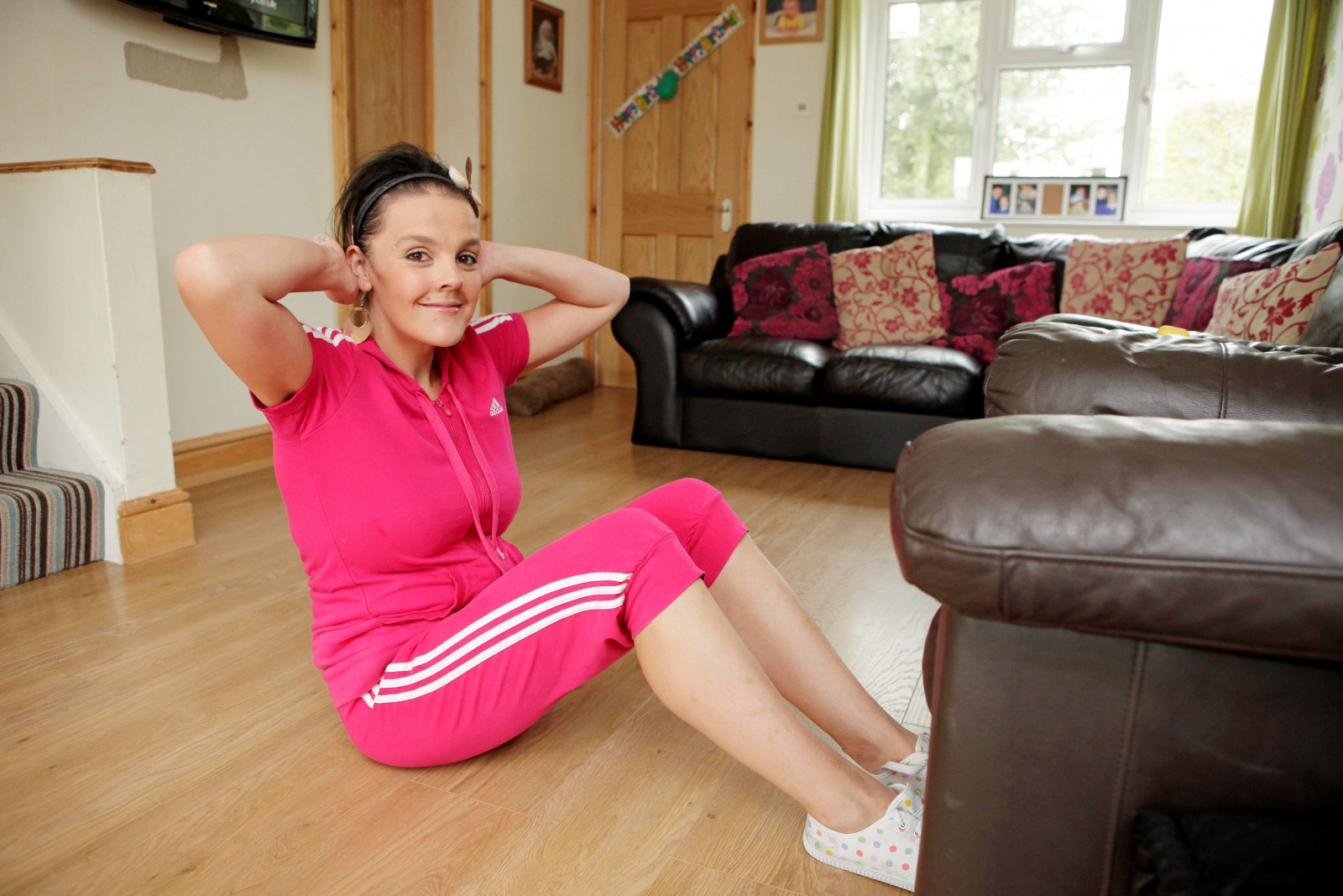 The stay-at-home mummy diet! Woman turns house into bootcamp and loses 10 stone