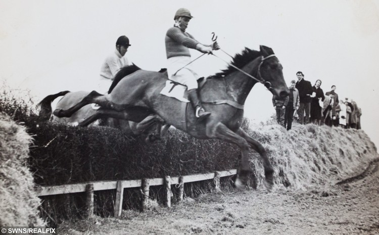 Collect image of Frank Keat (out in front) on Brown Willy at the 1963 Bolventor Harriers point to point race. Caring nurses at Bodmin Hospital in Cornwall granted a man his dying wish when they arranged for his favourite horse to visit him days before he passed away. See swns story SWHORSE. Cancer patient Frank Keat died peacefully on Monday (26th Oct) night but, last Friday, to his great surprise, his ?ve-year-old horse, Early Morn, appeared on the patio outside his hospital ward. Staff nurse Samantha Russell said it was an emotional time for everyone. ÃI can honestly say that this is the most memorable day of my career. The emotion was overwhelming and there wasn't a dry eye on the ward,Ã she said. ÃEarly Mom is a horse that Frank broke himself and he so wanted to see him again. ÃSadly, he was not well enough to visit the stable, so the nursing team came up with the fantastic idea of arranging for his horse to be brought to the hospital without him knowing. ÃWe wheeled his bed out on to the patio where he was greeted by his beautiful horse. ÃFrank was just overwhelmed and speechless.Ã Collect image of Frank Keat (out in front) on Brown Willy at the 1963 Bolventor Harriers point to point race. Caring nurses at Bodmin Hospital in Cornwall granted a man his dying wish when they arranged for his favourite horse to visit him days before he passed away. See swns story SWHORSE. Cancer patient Frank Keat died peacefully on Monday (26th Oct) night but, last Friday, to his great surprise, his Ãve-year-old horse, Early Morn, appeared on the patio outside his hospital ward. Staff nurse Samantha Russell said it was an emotional time for everyone. ÃI can honestly say that this is the most memorable day of my career. The emotion was overwhelming and there wasn't a dry eye on the ward,Ã she said. ÃEarly Mom is a horse that Frank broke himself and he so wanted to see him again. ÃSadly, he was not well enough to visit the stable, so the nursing team came up with the fantastic idea of arranging for his horse to be brought to the hospital without him knowing. ÃWe wheeled his bed out on to the patio where he was greeted by his beautiful horse. ÃFrank was just overwhelmed and speechless.Ã
