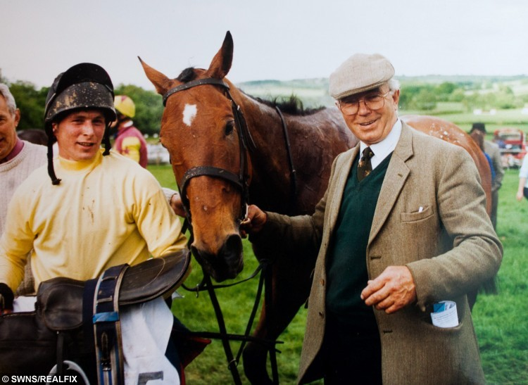 Collect image of Frank Keat with jockey Trevor Coles and his winning horse Frankies Flutter in 2000. Frankies Flutter has just won a point to point. Caring nurses at Bodmin Hospital in Cornwall granted a man his dying wish when they arranged for his favourite horse to visit him days before he passed away. See swns story SWHORSE. Cancer patient Frank Keat died peacefully on Monday (26th Oct) night but, last Friday, to his great surprise, his ?ve-year-old horse, Early Morn, appeared on the patio outside his hospital ward. Staff nurse Samantha Russell said it was an emotional time for everyone. ÃI can honestly say that this is the most memorable day of my career. The emotion was overwhelming and there wasn't a dry eye on the ward,Ã she said. ÃEarly Mom is a horse that Frank broke himself and he so wanted to see him again. ÃSadly, he was not well enough to visit the stable, so the nursing team came up with the fantastic idea of arranging for his horse to be brought to the hospital without him knowing. ÃWe wheeled his bed out on to the patio where he was greeted by his beautiful horse. ÃFrank was just overwhelmed and speechless.Ã Collect image of Frank Keat with jockey Trevor Coles and his winning horse Frankies Flutter in 2000. Frankies Flutter has just won a point to point. Caring nurses at Bodmin Hospital in Cornwall granted a man his dying wish when they arranged for his favourite horse to visit him days before he passed away. See swns story SWHORSE. Cancer patient Frank Keat died peacefully on Monday (26th Oct) night but, last Friday, to his great surprise, his Ãve-year-old horse, Early Morn, appeared on the patio outside his hospital ward. Staff nurse Samantha Russell said it was an emotional time for everyone. ÃI can honestly say that this is the most memorable day of my career. The emotion was overwhelming and there wasn't a dry eye on the ward,Ã she said. ÃEarly Mom is a horse that Frank broke himself and he so wanted to see him again. ÃSadly, he was not well enough to visit the stable, so the nursing team came up with the fantastic idea of arranging for his horse to be brought to the hospital without him knowing. ÃWe wheeled his bed out on to the patio where he was greeted by his beautiful horse. ÃFrank was just overwhelmed and speechless.Ã