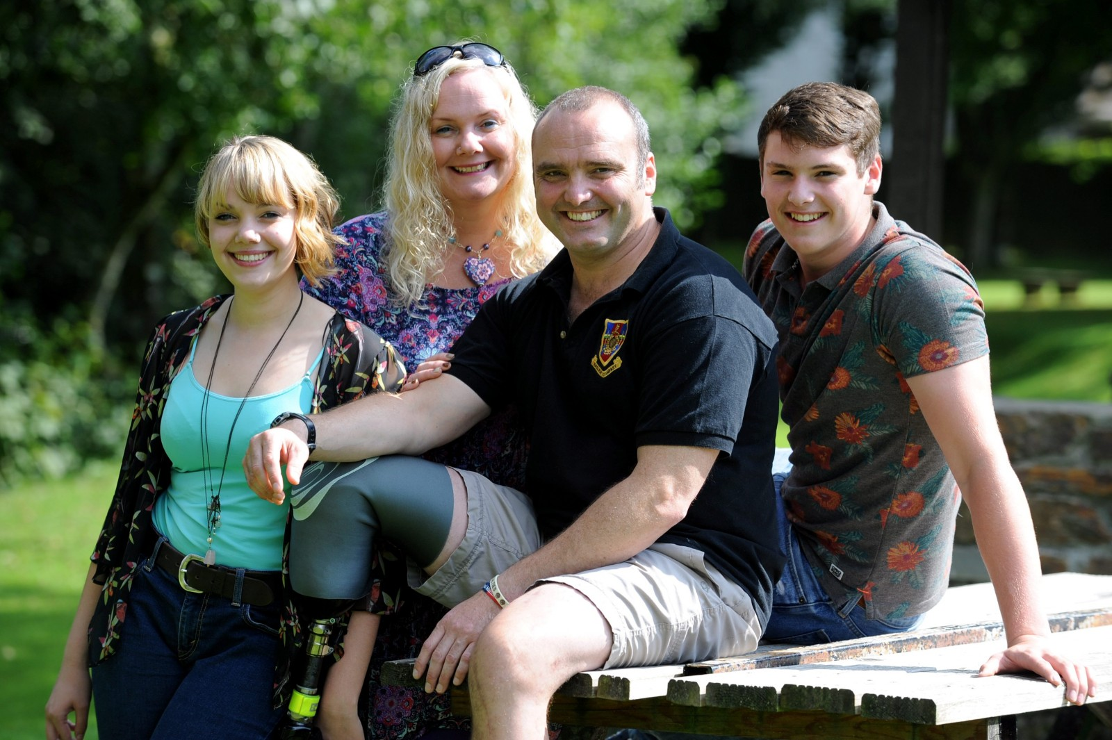 Marine survives three tours of Afghanistan then loses leg helping victims of M3 car crash
