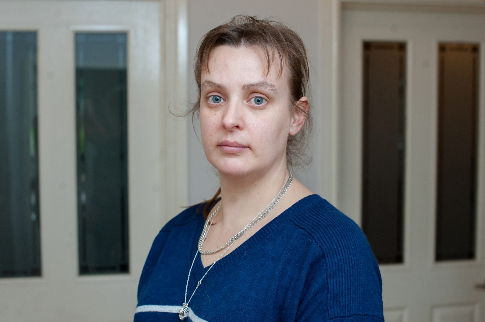 Liz Linham, 37, at home in Bristol.  February 13 2015. Linham's ex husband Adrian Linham, 43, has been sentenced for bigamy after running away to get married. See SWNS story SWRAT: A love rat bigamist jetted out to Mexico to marry his second wife on the same beach where he honeymooned with the first - and she only found out about it on FACEBOOK. Callous Adrian Linham, 43, secretly dated Hayley Totterdell for three years while his loyal wife of seven years Liz, 37, thought their marriage was running smoothly. He frequently told Liz he was going to Bangor, south Wales, to work for weeks at a time - but was actually living just 16 miles away with Hayley. Then he secretly flew out to a paradise beach to wed Hayley in front of her family and friends - who were all blissfully unaware he was already married.