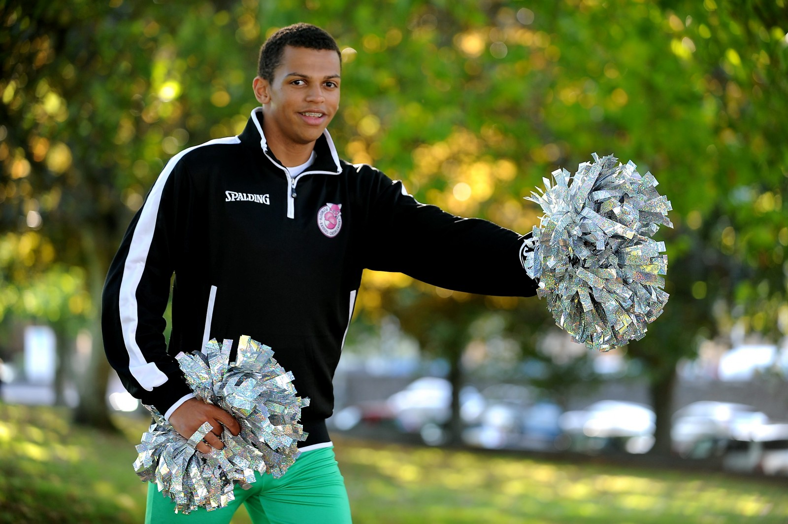Promising teen basketball player gives up the game to become a cheerleader