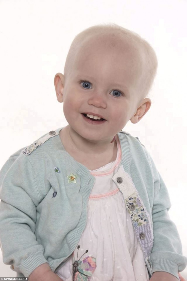 Sophia Parslow from Tirley, Gloucestershire one of the many British children to have died after becoming entangled in a blind cord. See SWNS story SWCORD: Swedish furniture giant Ikea has said it will no longer sell window blinds with cords.  Cords from blinds have been associated with the deaths of young children through strangulation, including Gloucestershire toddler Sophia Parslow.  Sophia's mum Amanda 0ÃHalloran. from Tirley, was left devastated when her 17-month-old daughter died by accidentally hanging herself on the blind cord in her living room in June 2013.  Since then Amanda has campaigned tirelessly for the design of blinds to be outlawed to prevent a similar fate befalling other children.