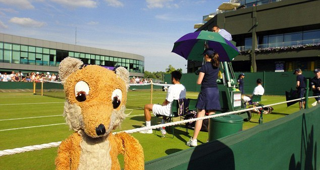 At Wimbledon