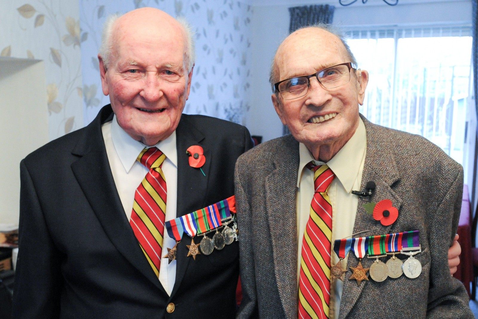 War heroes reunited after 40 years and discover they live just three miles apart