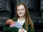 Brave 11-year-old single-handedly delivered her baby sister then went to school!