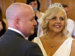 Bride brings wedding forward after being told she has just weeks to live