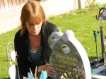 Grieving mum may be forced to exhume her baby boy because thieves are stealing the toys