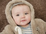 Baby was saved by his SNOWSUIT after firework attack