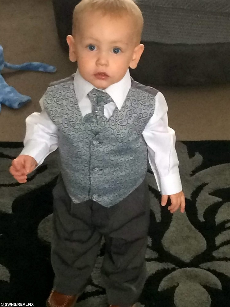 Jacob Jenkins who died after choking on a grape at a Pizza Hut in Hartlepool. See Ross Parry copy RPYGRAPE : The heartbroken parents of a boy who choked to death on a grape in Pizza Hut have described the fatal moment - and how he tragically picked the restaurant. Abigail Wilson and David Jenkins were left devastated when their beloved two-year-old son Jacob lost his fight for life on October 14. He had been on life support in Newcastle Royal Victoria for five days when his parents had to make the difficult decision to turn off the machine keeping him alive.