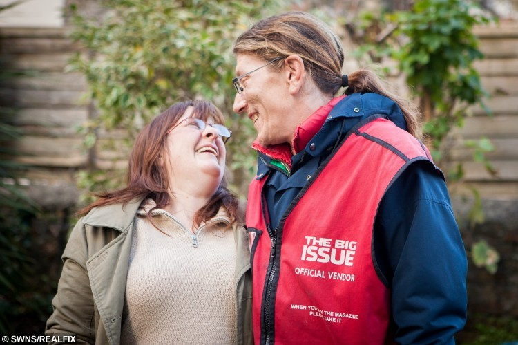 Homeless Big Issue Seller Set To Marry A Woman He Met