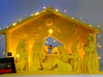 Check out this Nativity scene made entirely from CHEESE!