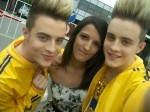 Mega-fan has spent £20K following JEDWARD around the world!