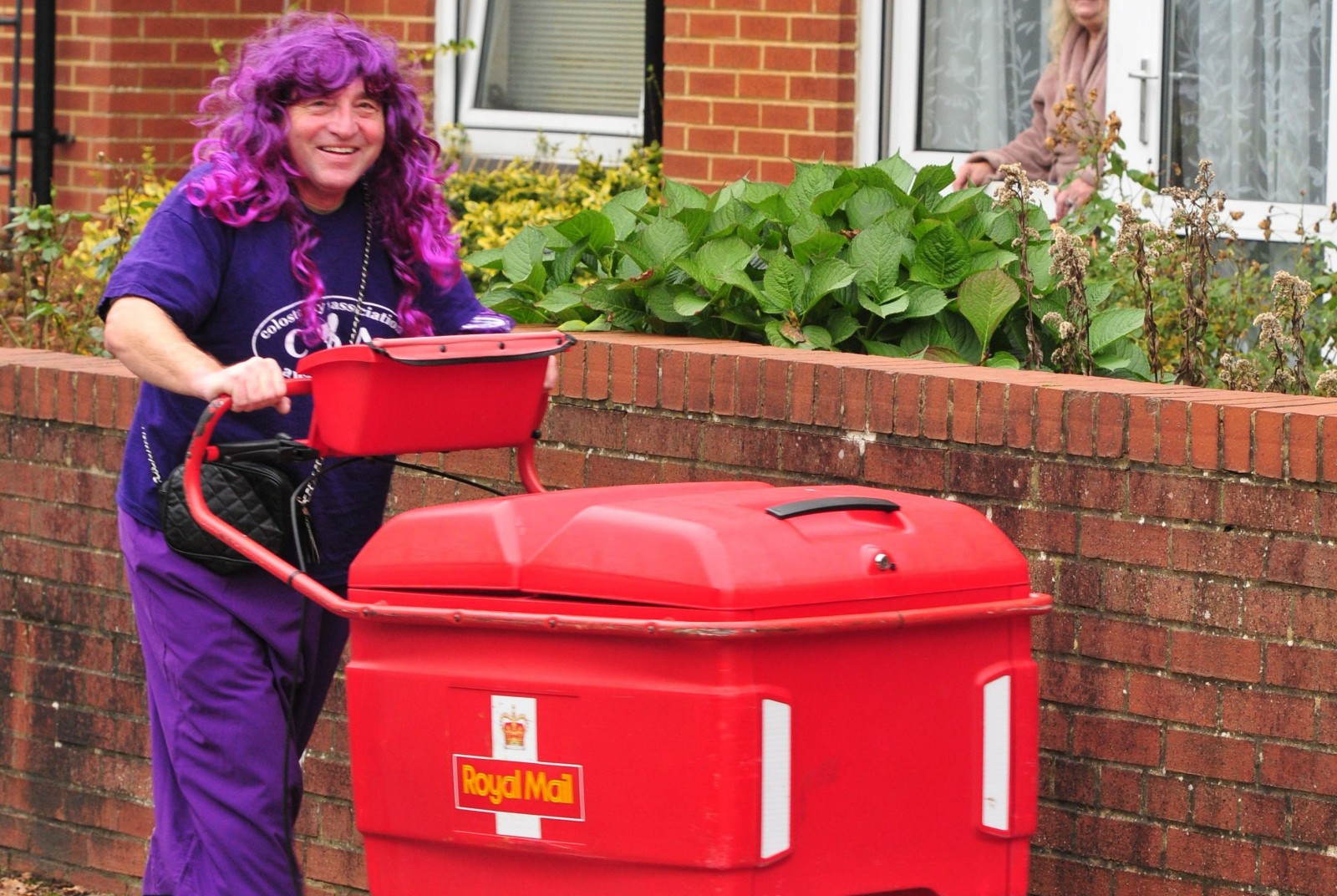 'I'm not afraid to talk about it' Postie delivers very important message in style