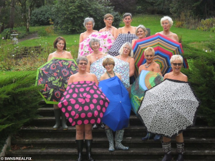 Brave WI members get cheeky to inspire older women to