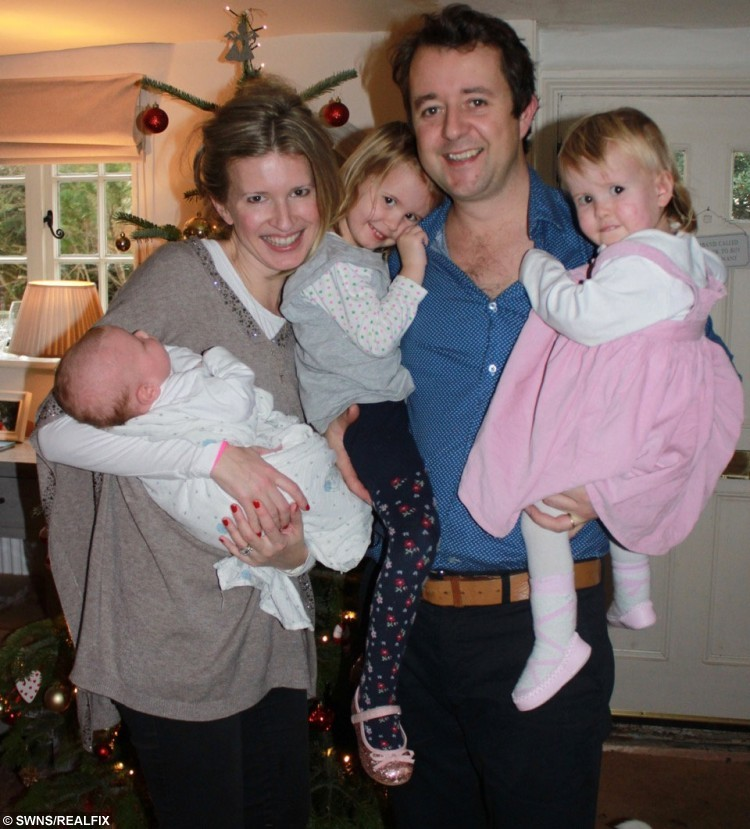 Collect of the Richardson family L to R baby Wilbur, mum Alice, Romy, 3, dad Patrick and Hazel. Hazel Richardson has been diagnosed with juvenile myelomonocytic leukaemia. See Masons story MNDONOR; Pop band McFly and Strictly Come Dancing star Harry Judd are backing a family's desperate plea to find a stem cell donor for their seriously ill daughter this Christmas. Hazel Richardson was diagnosed with juvenile myelomonocytic leukaemia - an extremely rare form of blood cancer - 11 weeks ago and desperately needs treatment. Doctors immediately tested her parents Patrick, 37, and Alice, 36, and her older sister Romy, three and a half, to see if they could donate their healthy cells but sadly none came up as a match. This led them to launch a desperate plea for a stranger to come forward and save 20-month-old Hazel, known as Hazy, before it's too late. The appeal was soon brought to the attention of the 2011 Strictly winner, who is urging people to register with blood cancer and disorder charity Anthony Nolan.