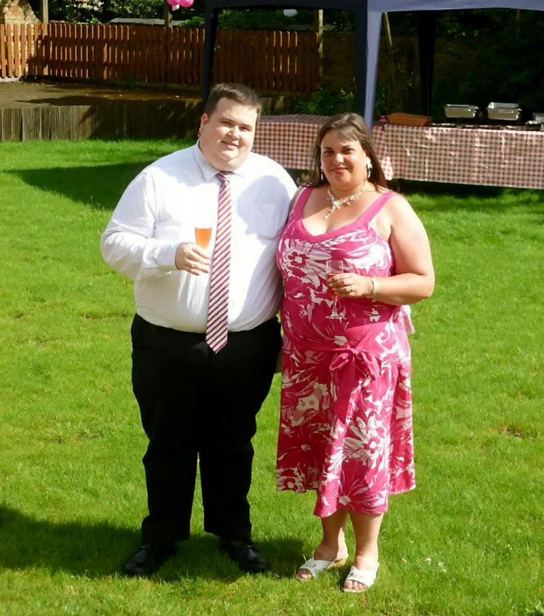 PRIDE AND GROOM – Husband-to-be sheds 11st in 18 months so he could look trim on his wedding day