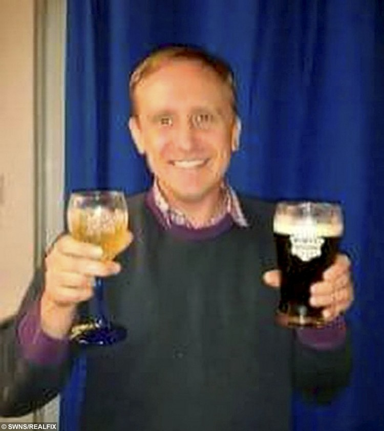 """Facebook picture of Merrick Rogers.  A convicted murderer who strangled a young mum to death with her own jumper has taken to Facebook to celebrate his release from jail.  See MASONS story MNKILLER.  Former taxi driver Merrick Rogers, 40, posted a photo of himself smiling and clutching a pint of Guinness after serving 15 years for the murder of Claire Streader, 24, in 1999.  Rogers - described as a 'dangerous young man' when jailed in 2000 - also took to Twitter.  He wrote: """"life doesn't always work out the way you want it to"""" and """"suck it up and make the most of every situation, no matter how bad it seems.""""  Rogers, of Sittingbourne, Kent, was jailed for sexually assaulting and strangling Claire whose body was later found dumped in a park in Canterbury, Kent.  He has always maintained his innocence.  The photos emerged only two weeks after Miss Streader's father Peter passed away aged 72."""