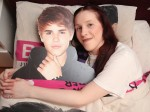 Justin Bieber fan sleeps with cardboard cut out and has done something DRASTIC to pretend they're married