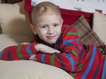 The six-year-old diagnosed with the world's rarest form of tumour