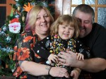 Courageous four-year-old home for Christmas after BEATING cancer!