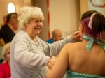 Care home staff recreate 1940's Christmas dance to bring back memories for dementia patients