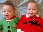 IVF twins are finally home for Christmas after miracle recovery
