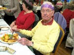 Kind-hearted pensioner treats 50 strangers to Christmas dinner so they're not alone