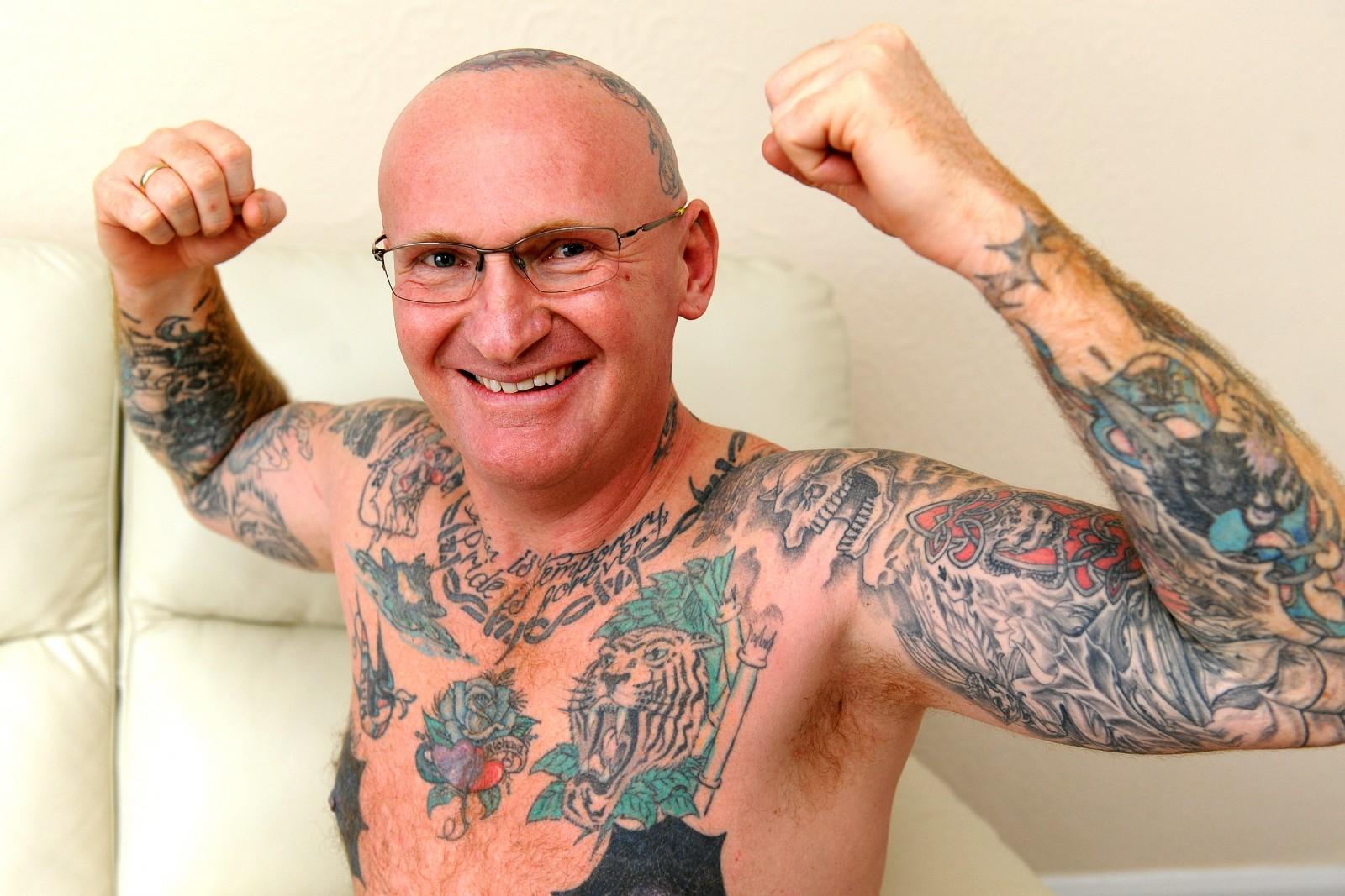 Binman gets huge 'Lady C' tattoo – for a joke
