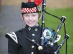 Set of bagpipes dramatically transforms the life of a very brave boy