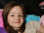 Girl with rare facial disfigurement is picked out for all the right reasons
