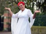 Super-slimmer is back in wedding dress she wore 38 YEARS AGO!