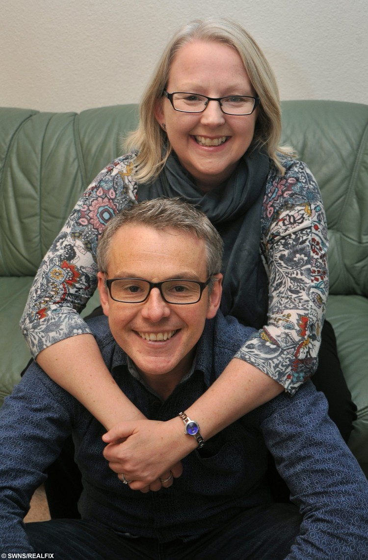 """In a remarkable repeat of a previous act of generosity, Joanne Boylan has donated one of her kidneys to brother Rick Flemming, twelve years after their father David donated one of his kidneys to wife Margaret. See Ross Parry copy RPYKIDNEY : A loving sister gave her ailing brother a kidney for his birthday 13 years after their dad donated one his kidneys to their mum. When generous Joanne Boylan was asked what she got brother Rick for his 40th she says """"I gave him one of my kidneys"""". The siblings have always been close but after Joanne was found to be a perfect match and gave one of her organs to her younger brother they are now closer than ever. But this was the second time kidneys had been swapped between family members, because 13 years before Joanne's live donation her parents had done the same thing. Devoted couple Margaret and David Flemming went through the transplant together, after David turned out to be a perfect match, despite the odds being similar to winning the Lottery."""