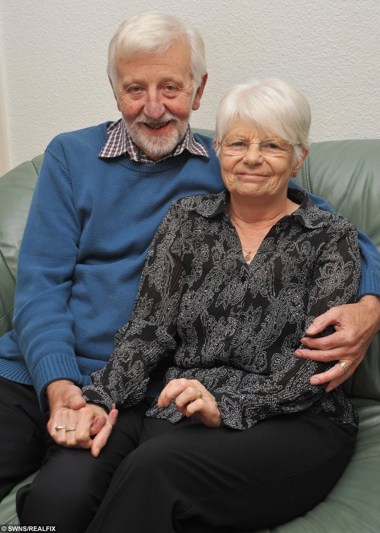"""In a remarkable repeat of a previous act of generosity, Joanne Boylan has donated one of her kidneys to brother Rick Flemming, twelve years after their father David donated one of his kidneys to wife Margaret. Pictured is  David and Margaret. See Ross Parry copy RPYKIDNEY : A loving sister gave her ailing brother a kidney for his birthday 13 years after their dad donated one his kidneys to their mum. When generous Joanne Boylan was asked what she got brother Rick for his 40th she says """"I gave him one of my kidneys"""". The siblings have always been close but after Joanne was found to be a perfect match and gave one of her organs to her younger brother they are now closer than ever. But this was the second time kidneys had been swapped between family members, because 13 years before Joanne's live donation her parents had done the same thing. Devoted couple Margaret and David Flemming went through the transplant together, after David turned out to be a perfect match, despite the odds being similar to winning the Lottery."""